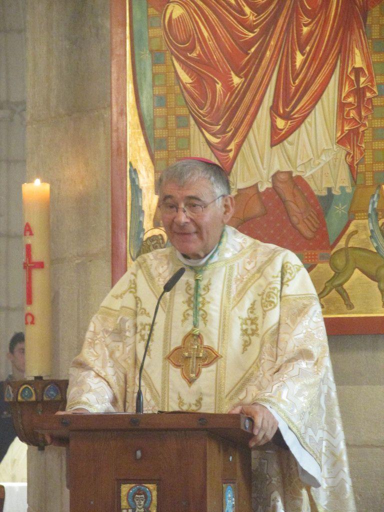 Homélie de Mgr Pascal Roland lors de sa visite pastorale en novembre 2017