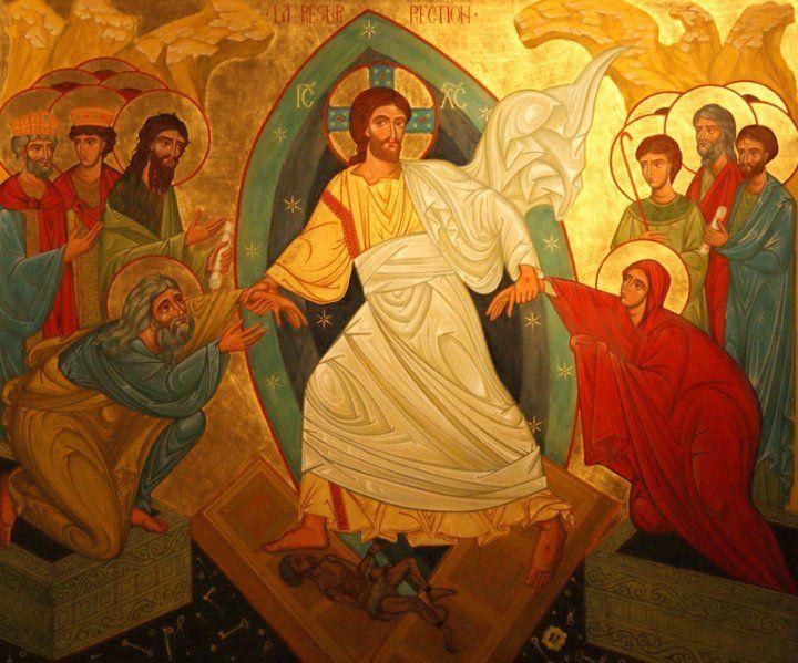 Le Christ est ressuscité, allélluia !  Jour de Pâques 2019