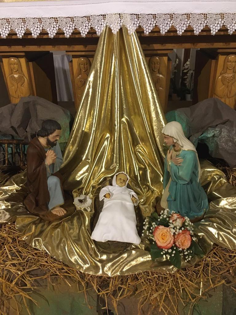 La crèche de Saint Marcel en Dombes - La crèche de Villars les Dombes