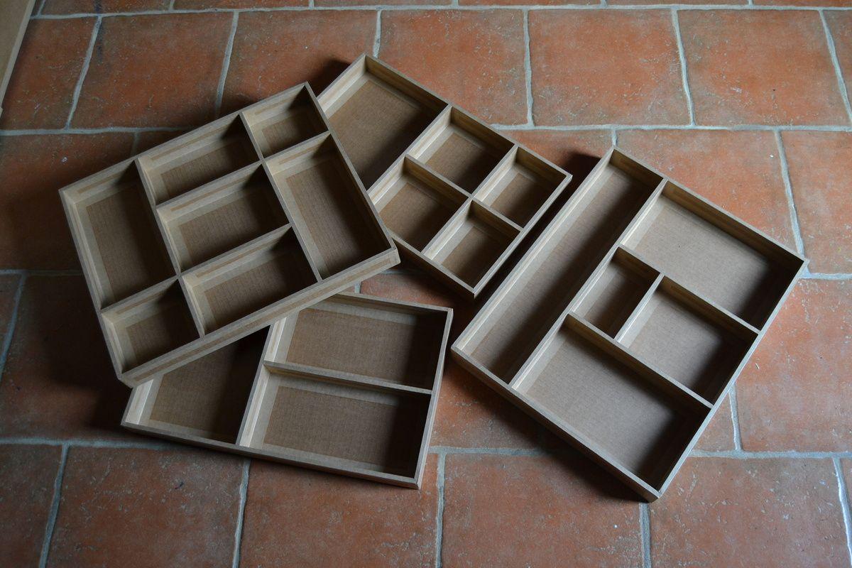 Casiers pour tiroirs
