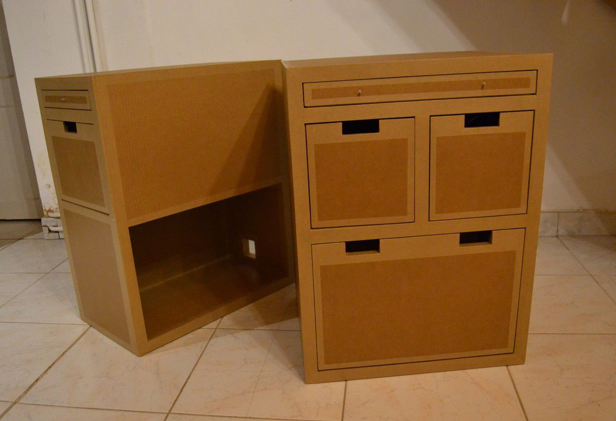 Blocs en carton support de bureau