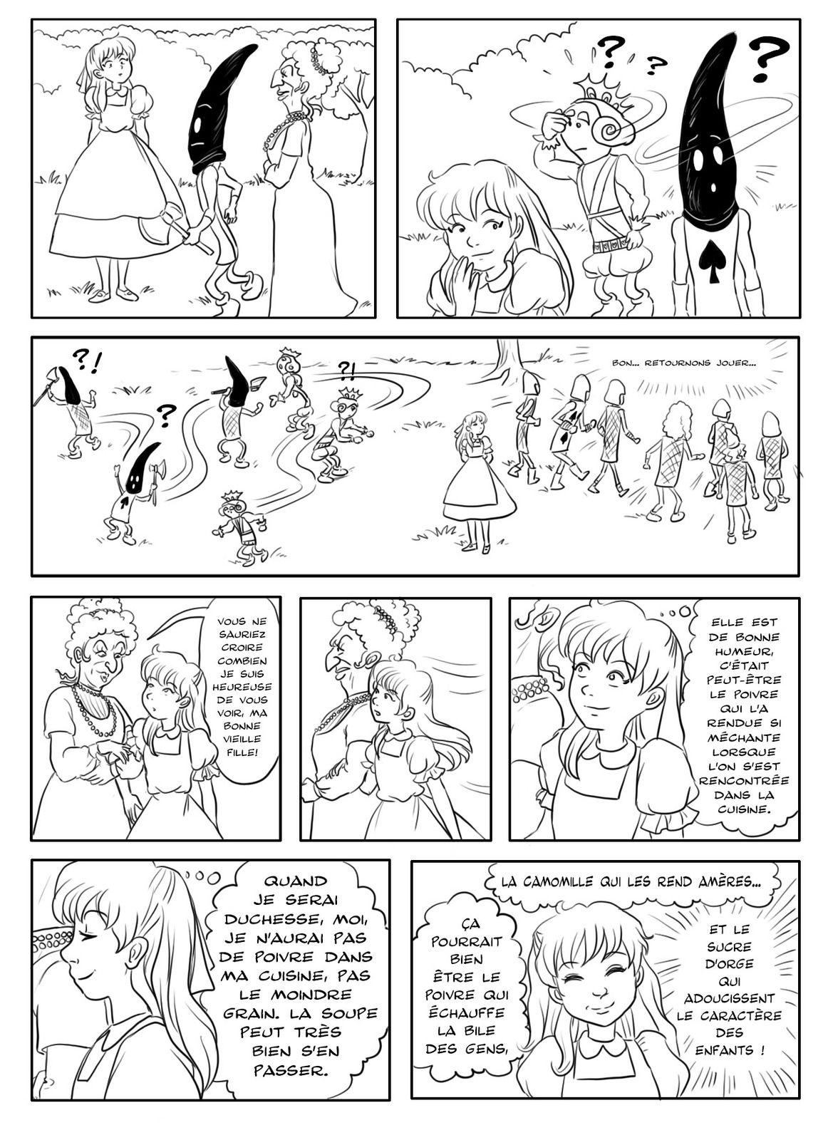 Alice au pays des merveilles - Tome 3 - page 20