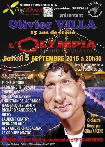 Olivier VILLA à L'Olympia