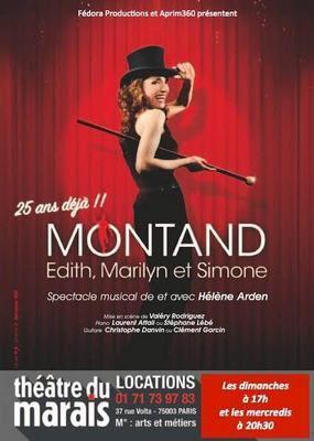 MONTAND, Edith, Marilyn et Simone...