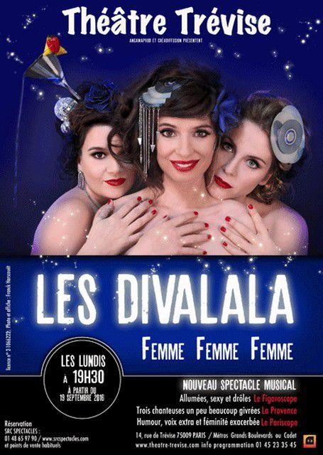 LES DIVALALA dans FEMME FEMME FEMME