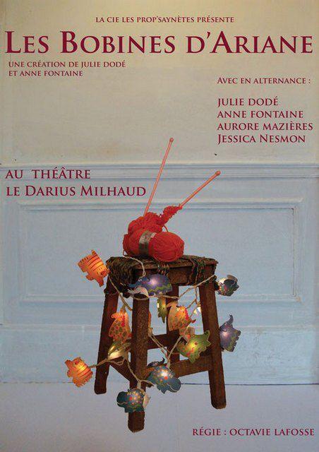 LES BOBINES d'ARIANE au Théâtre Darius-Milhaud