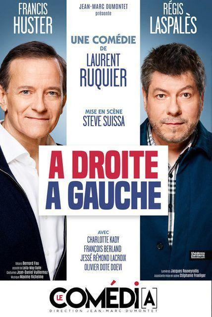 A DROITE, A GAUCHE de Laurent RUQUIER