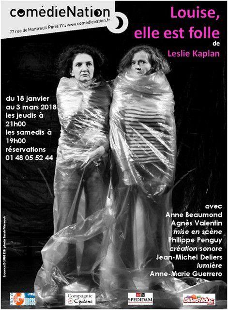 LOUISE, ELLE EST FOLLE... de Leslie KAPLAN