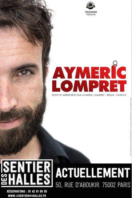 AYEMRIC LOMPRET au SENTIER DES HALLES