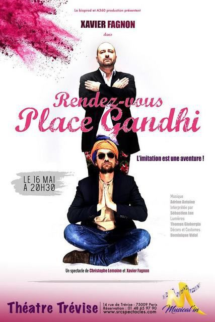 RENDEZ-VOUS PLACE GHANDI à MUSICAL'IN