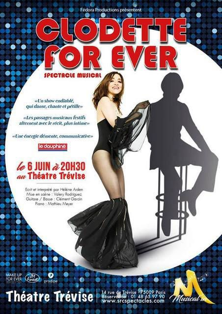 CLODETTE FOR EVER dans Musical'In