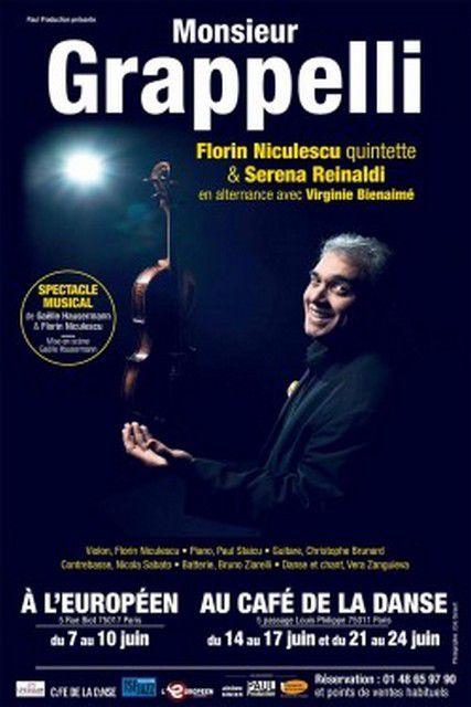 MONSIEUR GRAPPELLI par Florin NICULESCU Quintette