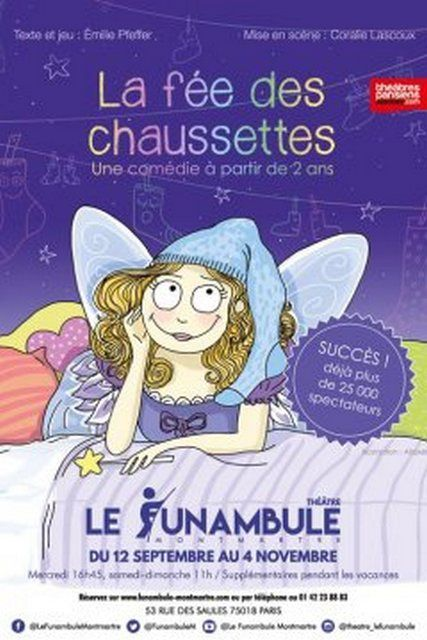 LA FEE DES CHAUSSETTES de Emilie PFEFFER