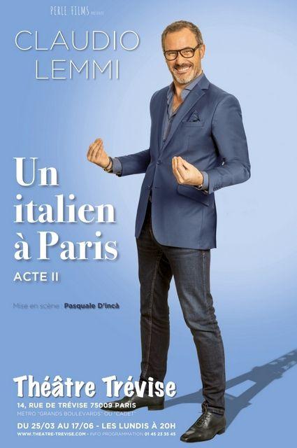 UN ITALIEN A PARIS avec Claudio LEMMI