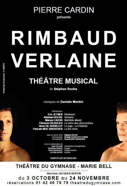 RIMBAUD - VERLAINE  de Stéphane ROCHE