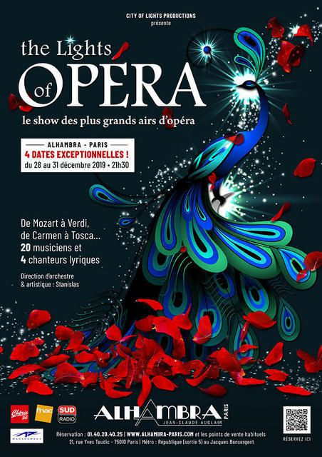 THE LIGHTS OF OPERA - Le Show des plus grands airs...