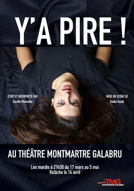 Y'A PIRE!  de Coralie MENNELLA