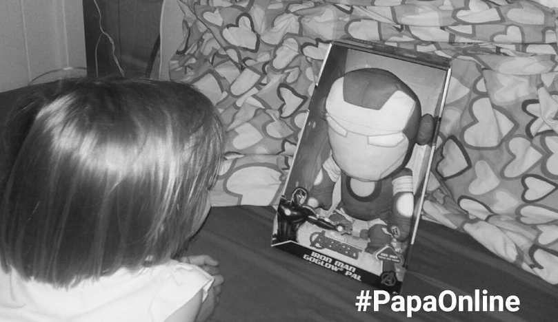 [Test] Papa Online ! a testé pour vous... le Go Glow Pal Iron-Man
