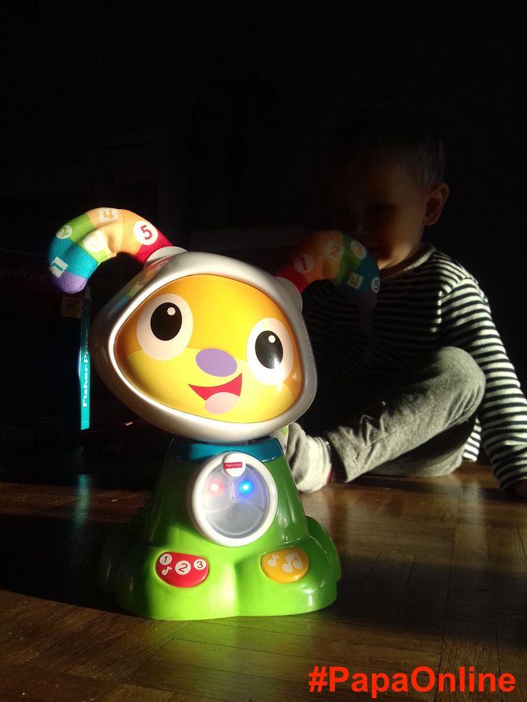 [Test] Papa Online ! a testé pour vous... le robot BeBo de Fisher Price