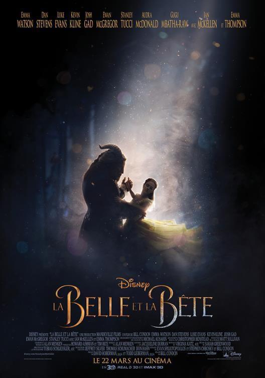 [DISNEY] La Belle et la Bête : une nouvelle bande-annonce et une nouvelle affiche !