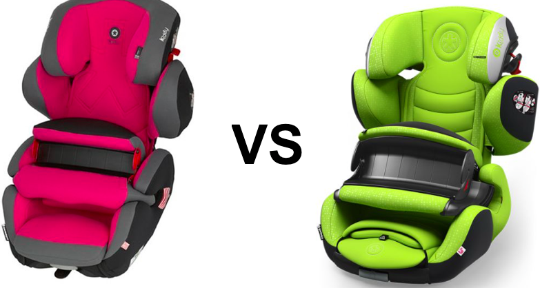 [Test] Le match de sièges auto 1/2/3 by Kiddy : Guardianfix pro 2 Vs. Guardianfix 3