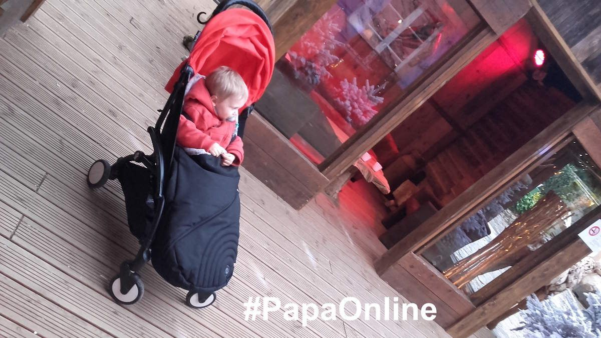 [Test] Papa Online ! a testé pour vous... la chancelière et le manchon Kiddy