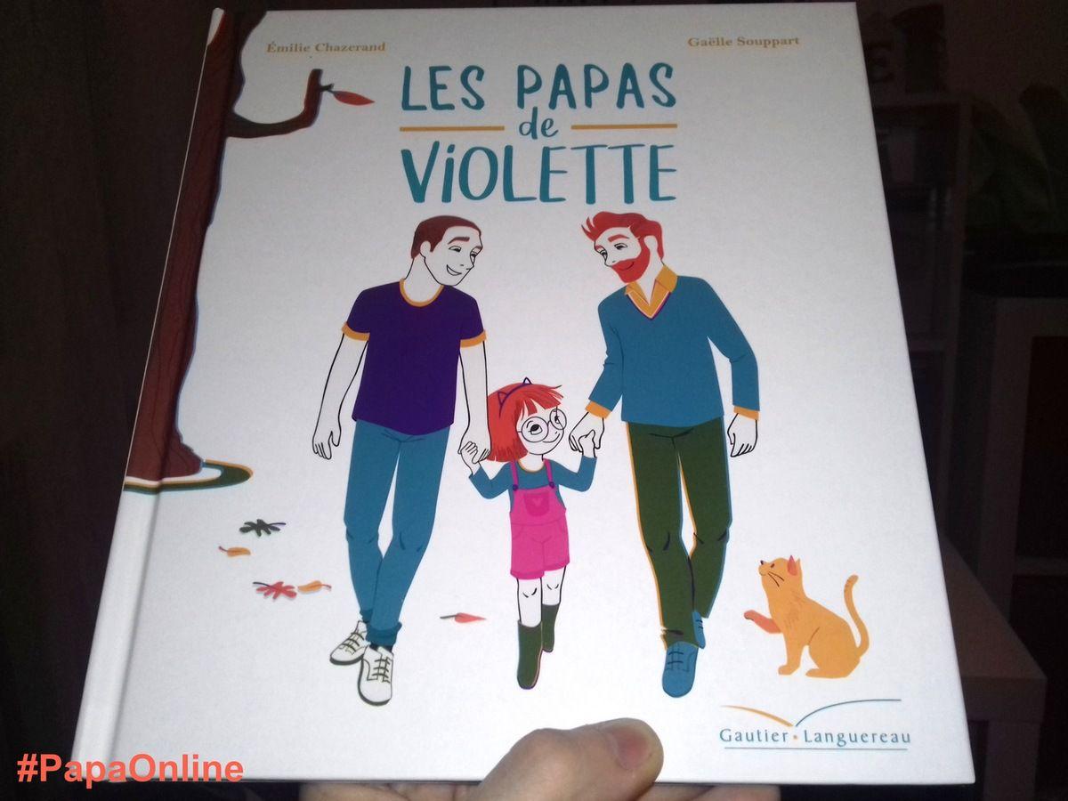 """[Papathèque] Lecture : """"Les deux papas de Violette"""" (éditions Gautier-Languereau)"""