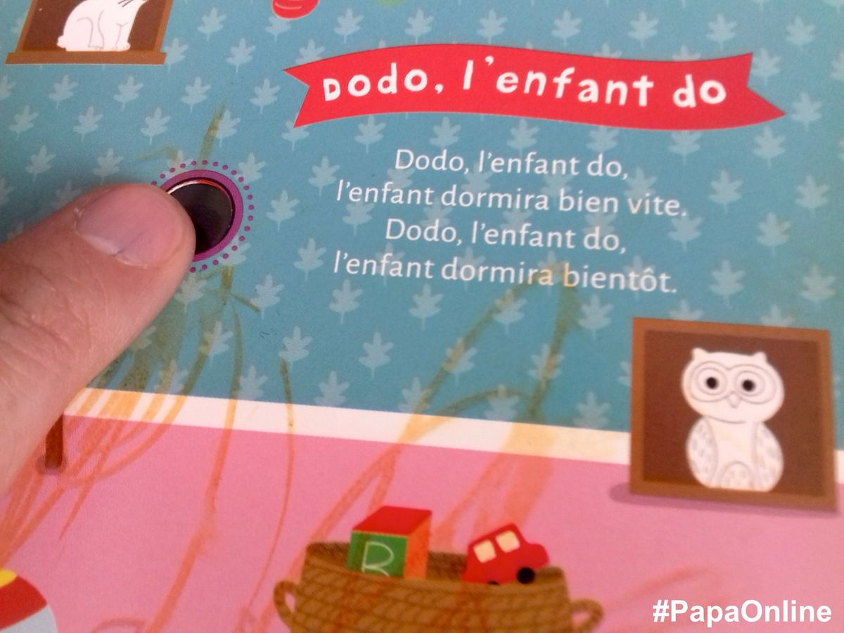 """[Papathèque] Lecture-son : """"Dodo, l'enfant do"""" (éditions Deux Coqs d'Or)"""