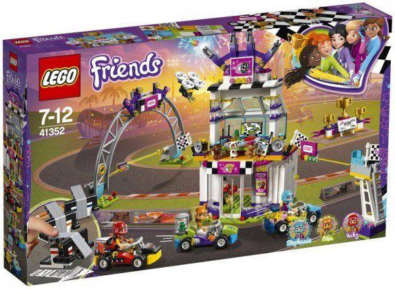 LEGO Friends 41352 - LA GRANDE COURSE (648 pièces, 3 minifigurines)