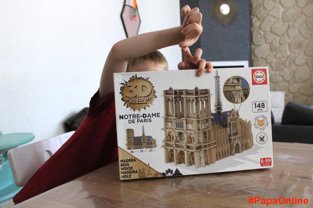[Test] Papa Online ! a testé pour vous... les ''Monuments 3D puzzles'' d'Educa Borras