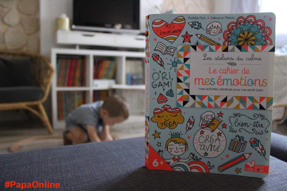 """[Papathèque] Lecture : """"Le cahier des émotions"""" (éditions Deux Coqs d'Or)"""