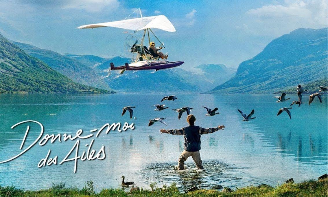 """[Papathèque] Cinéma : """"Donne-moi des ailes"""", un livre/un film signé Nicolas Vanier (en salle le 9 octobre)"""