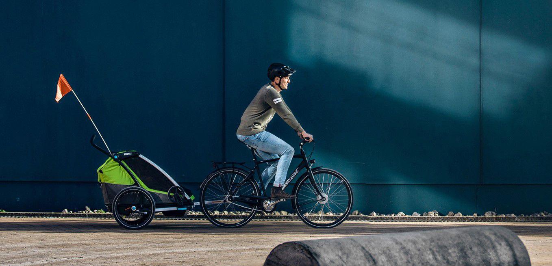 [Dossier] À bicyclette... oui, mais en famille :-) avec Thule