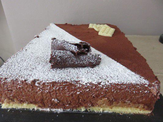 Pavé crousti fondant chocolat