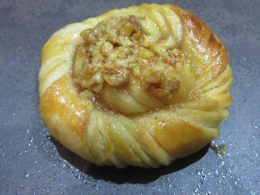 Torsades briochées au noix et caramel ou Toscabullar