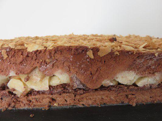 Gâteau crousti fondant aux poires