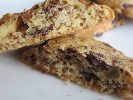 Cookies choco noix de cajou, noix