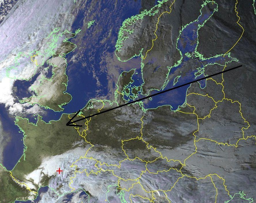 Le Moscou Paris est déjà là depuis jeudi ! mais le temps ne respecte pas forcément la centralisation parisienne !