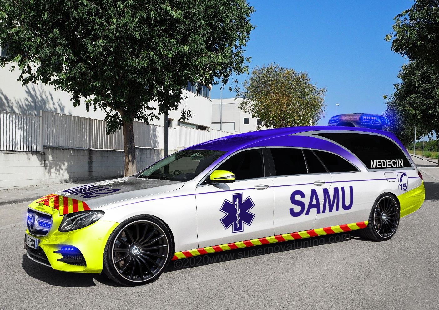 Mercedes-Benz Classe E Ambulance