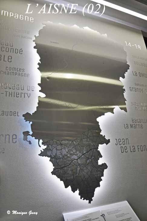 Le département de l'Aisne dans sa totalité.