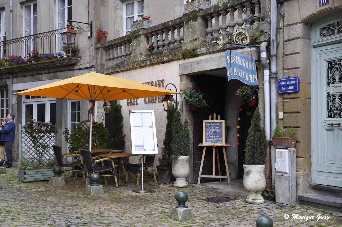 """Le restaurant """"Le Petit Rolin"""" où nous avons fêté nos 40 ans de mariage."""