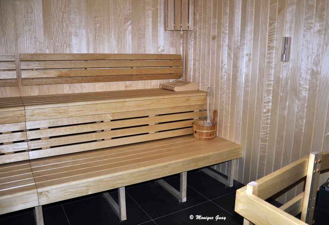 Deux saunas