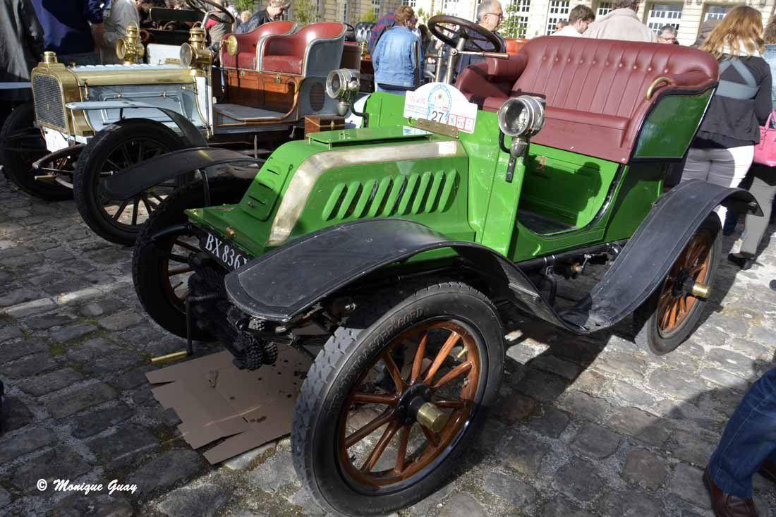A Compiègne: quelques voitures d'avant 1906 (2/2)
