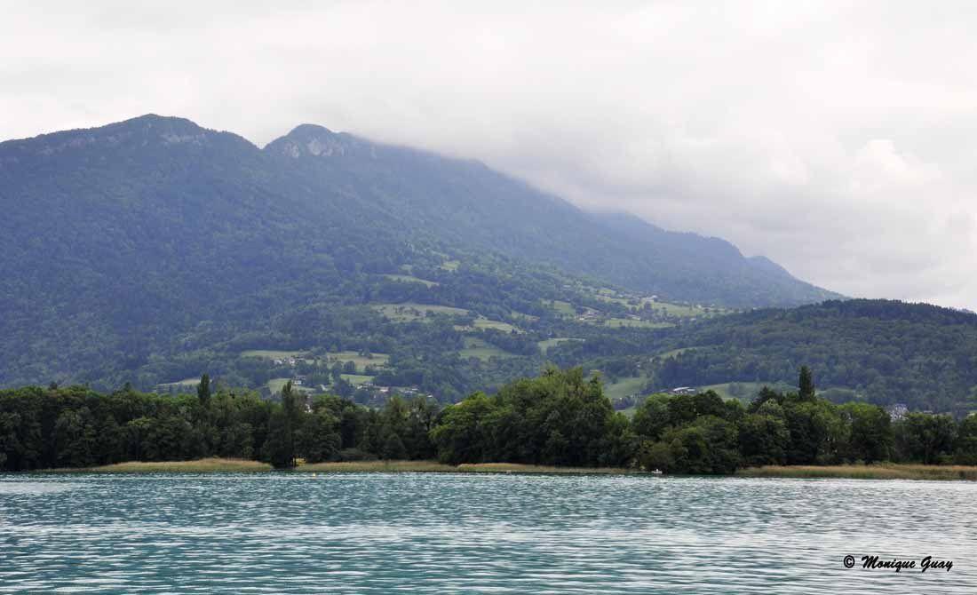 Croisière sur le lac d'Annecy