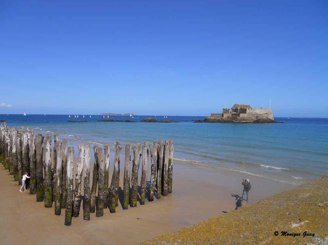 Saint Malo, plage de l'Eventail