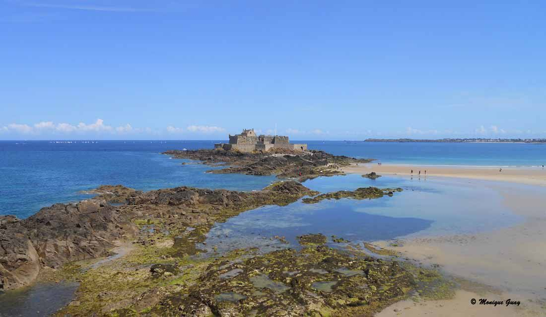 Fort National à Saint Malo