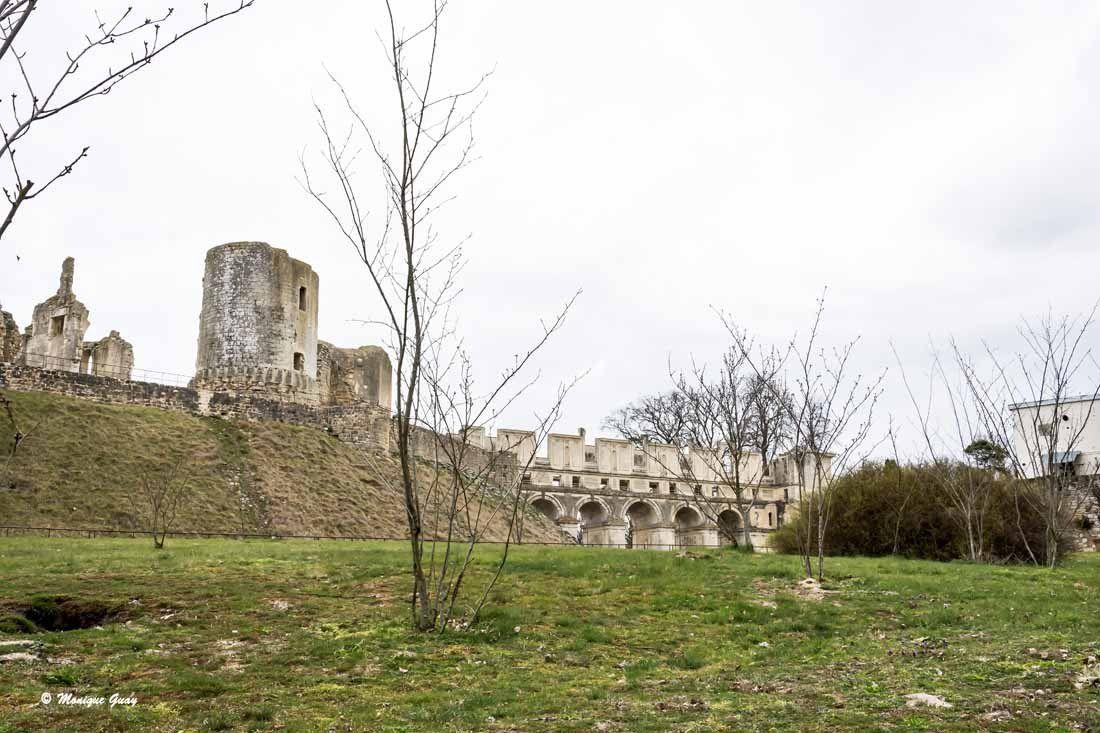 Vestiges du château de Fère-en-Tardenois.