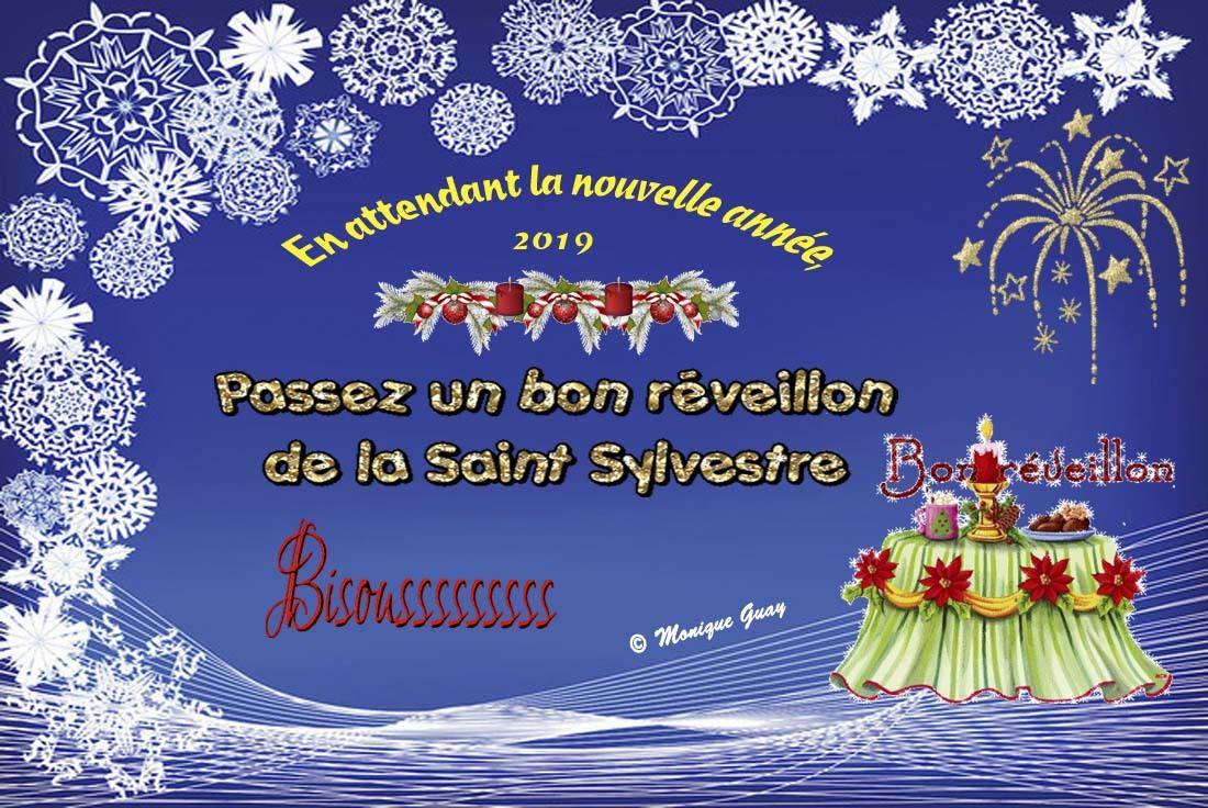 Bon Réveillon de la Saint Sylvestre !