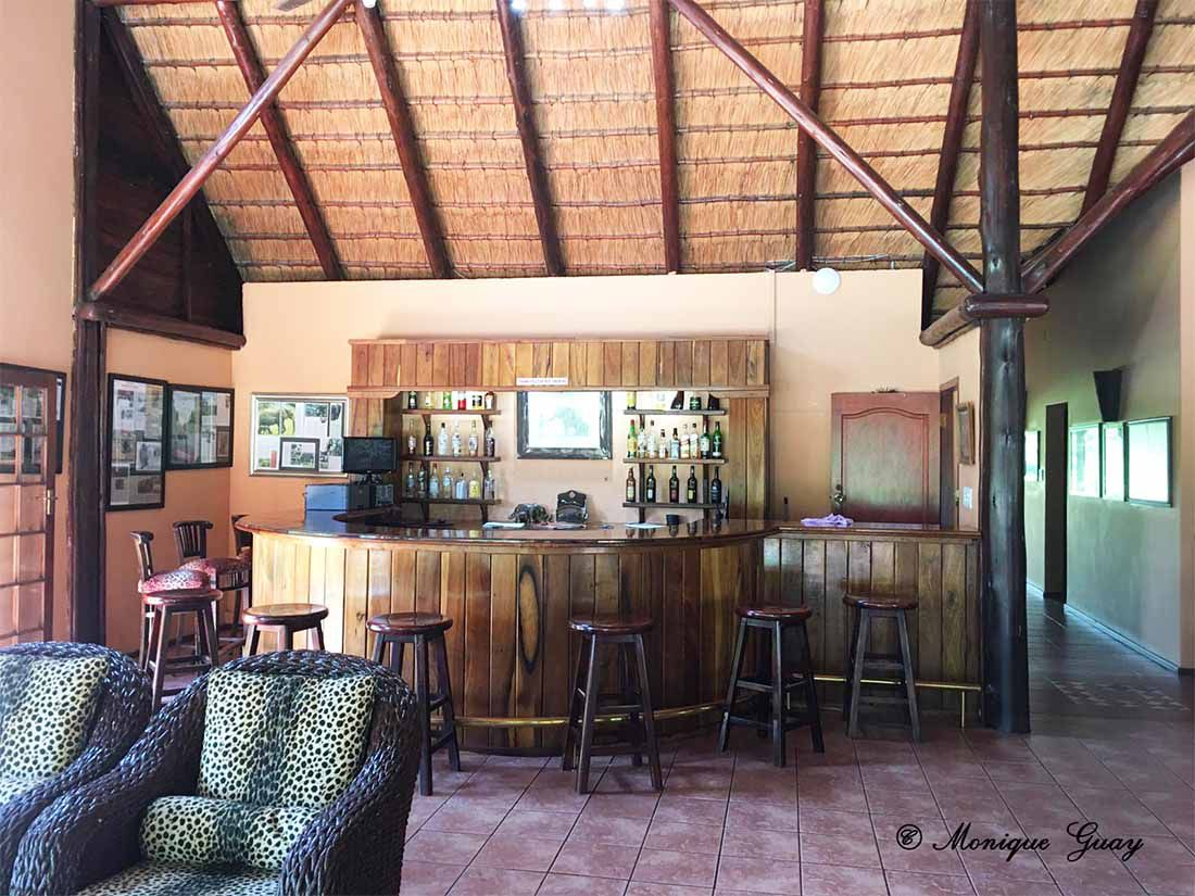 Luxury tented Camp pour cours-photos