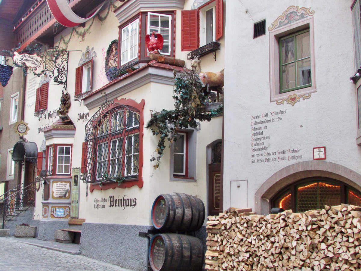 Cartes postales (et quelques adresses) de Kufstein  #Autriche